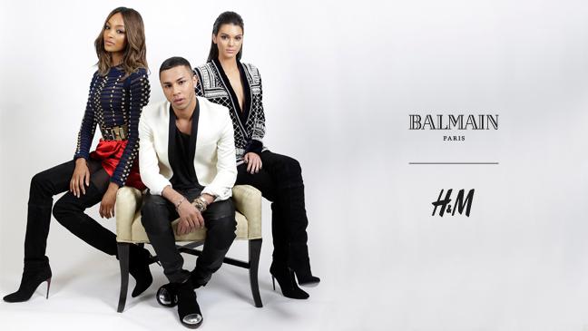 H&M x Balmain Collection Preview