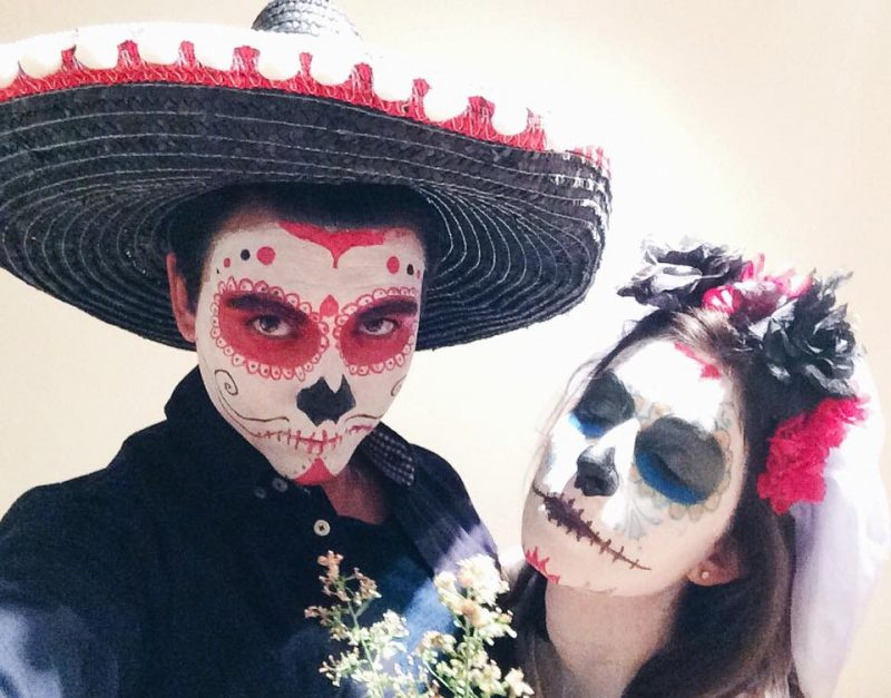 Mexican Sugar Skull | Halloween Makeup