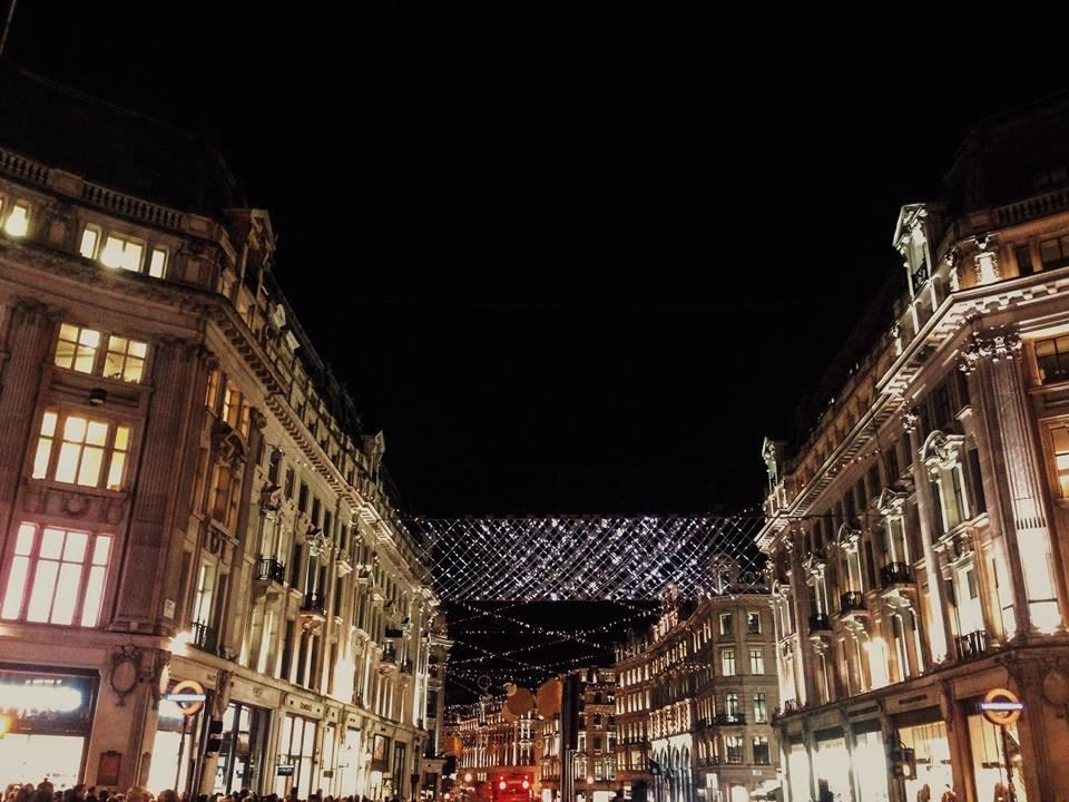 London Christmas Lights 2015