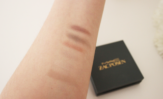 MAC Zac Posen Swatches