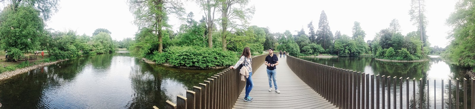 Kew Gardens bridge