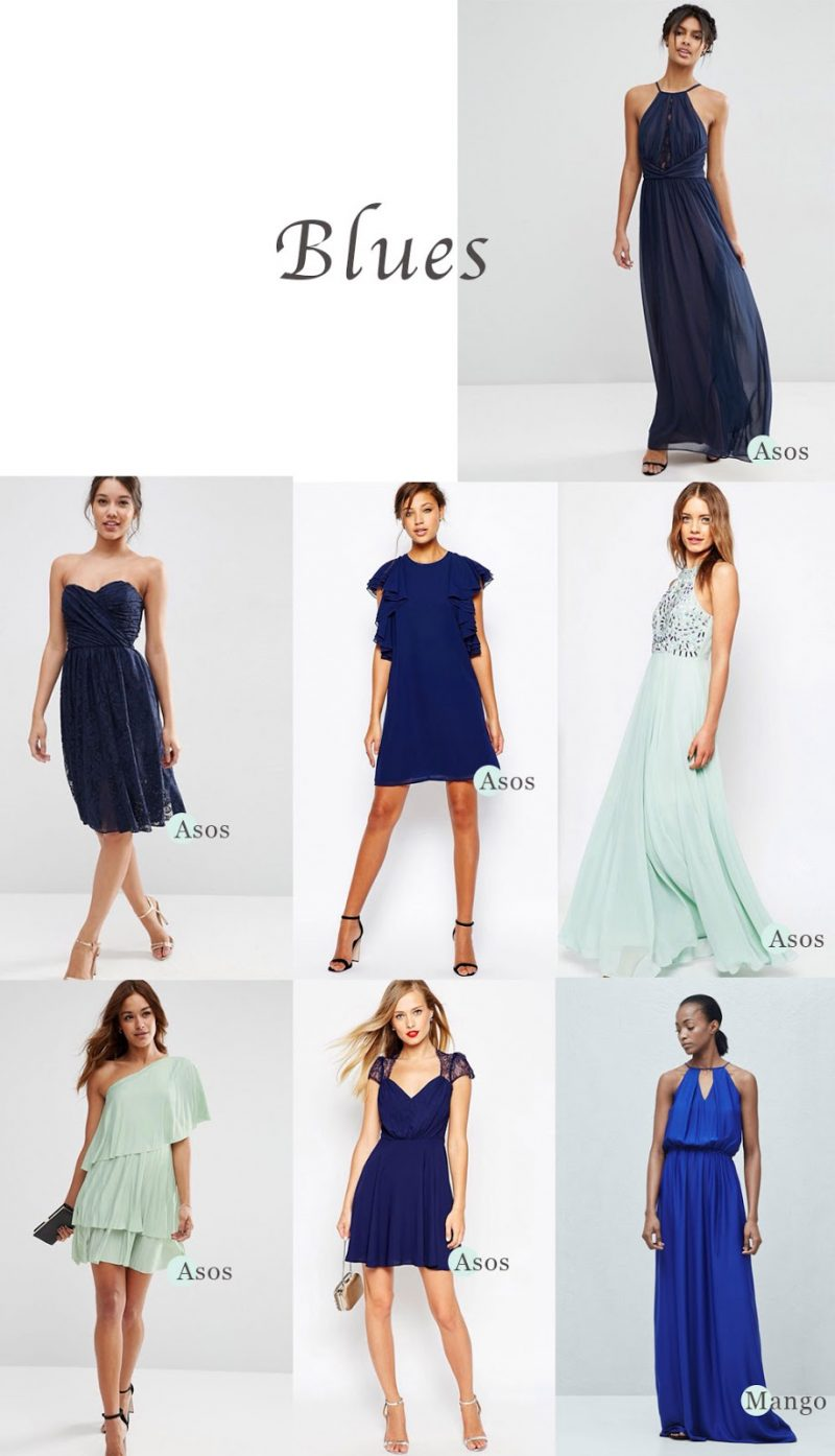 How to Mix & Match Bridesmaids' Dresses