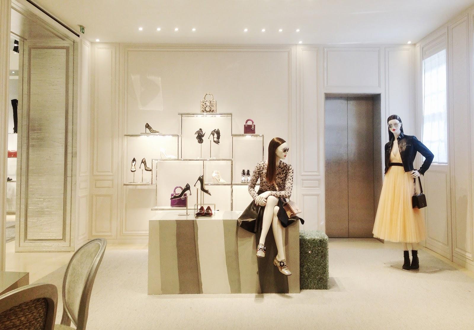 Dior Bond Street Store