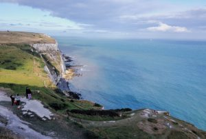 Dover Cliffs England UK
