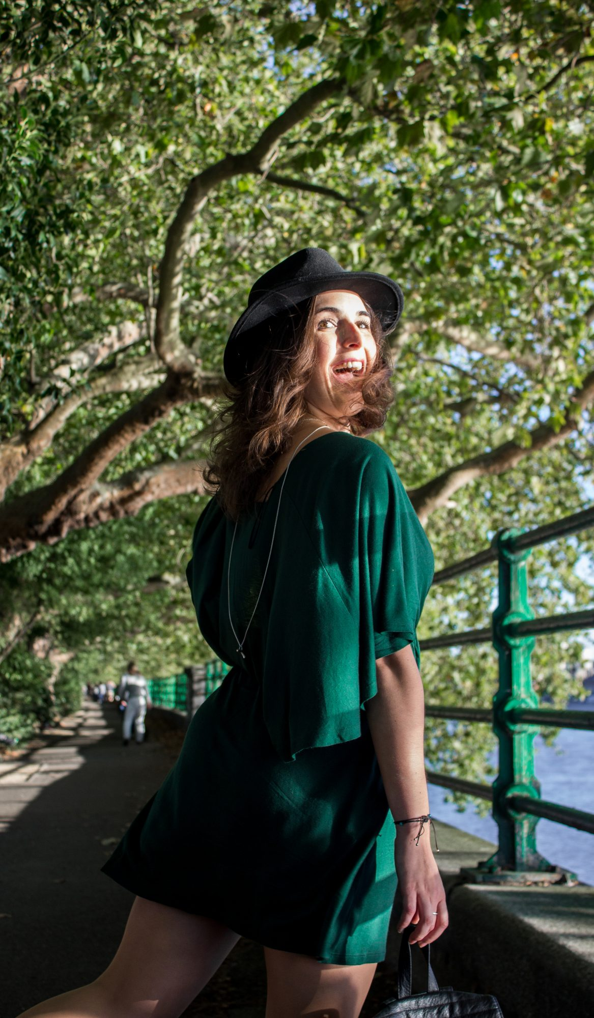 How to style a Kimono Dress with a Hat