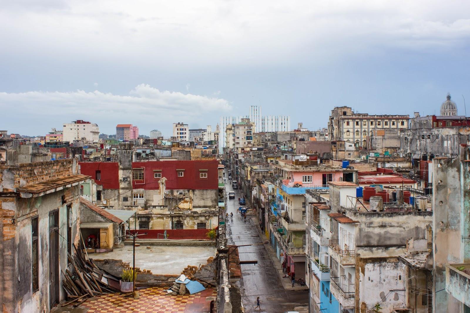 La Guarida Cuba Restaurant Rooftop View
