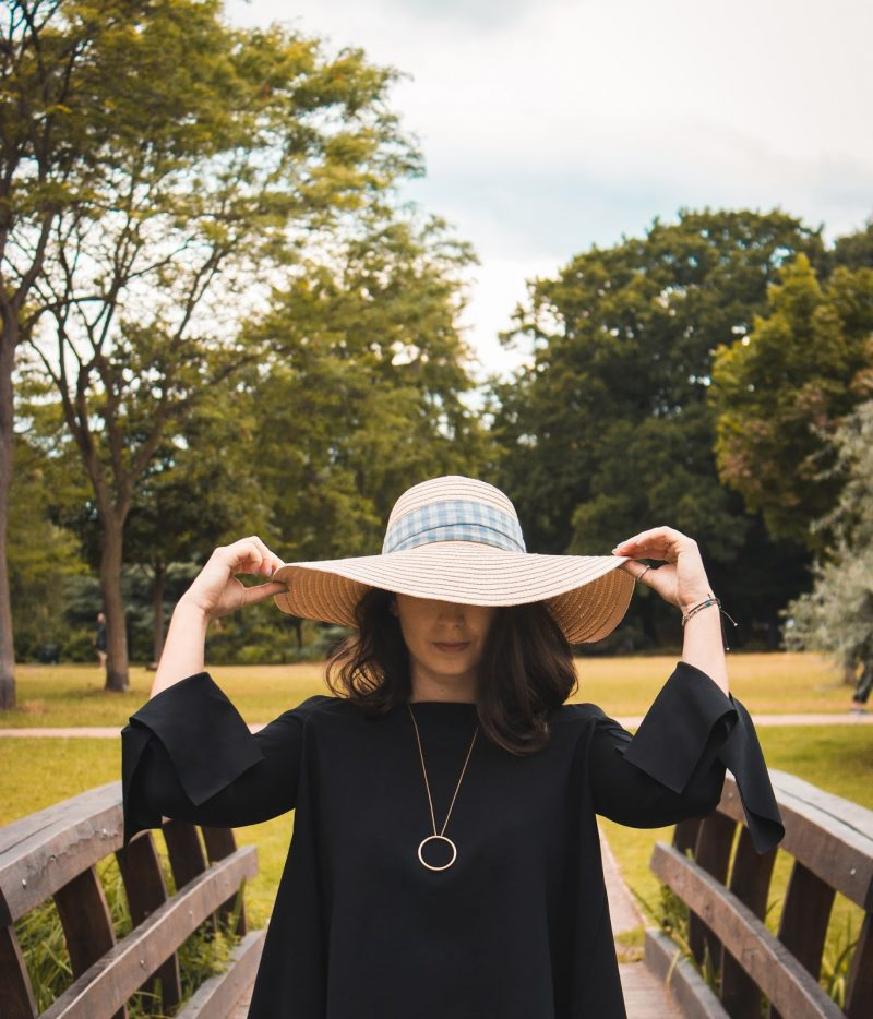 Straw hat in the city  | OUTFIT