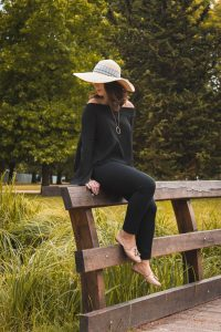 Outfit Straw hat