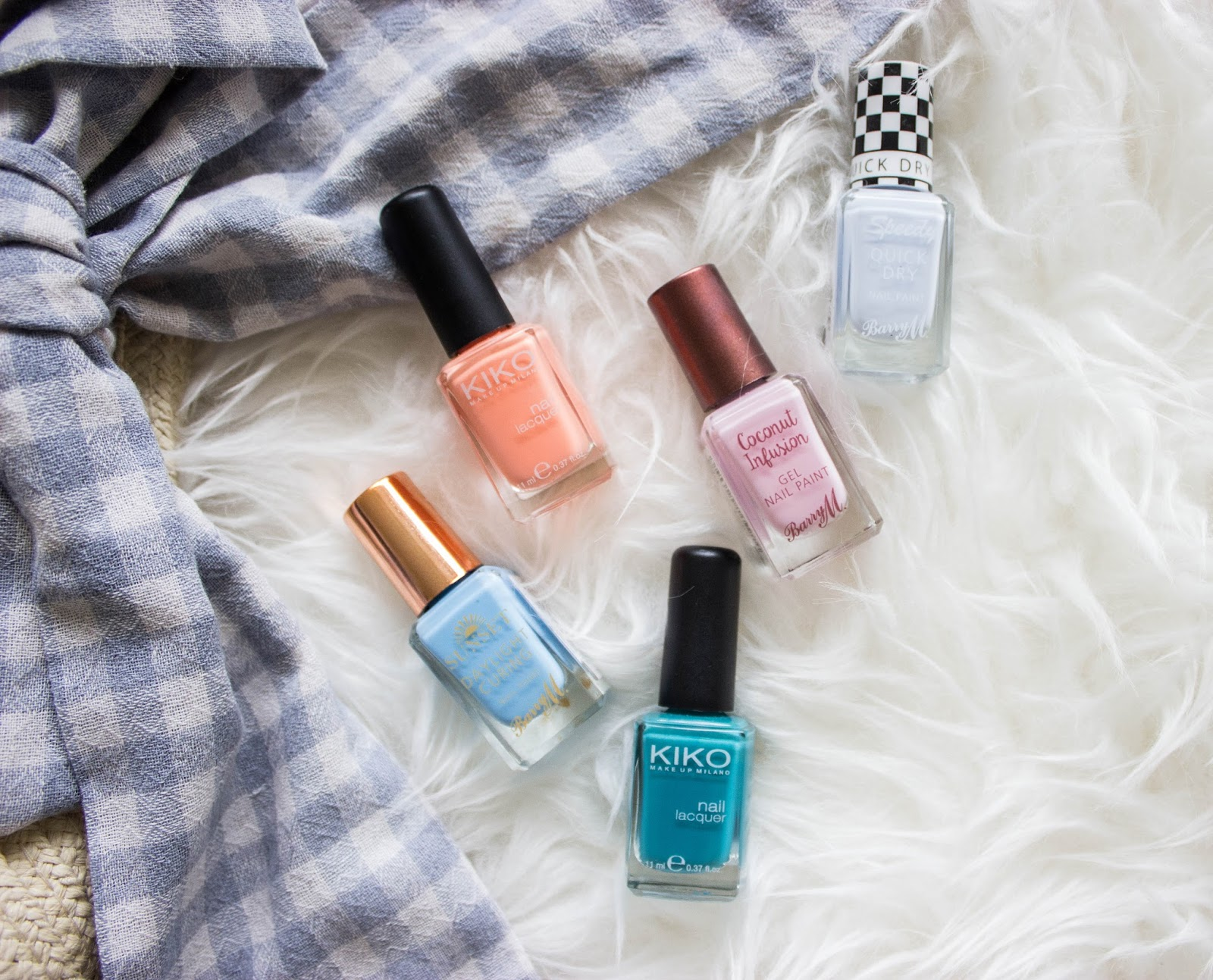 BEST SUMMER NAIL COLORS W/ SWATCHES