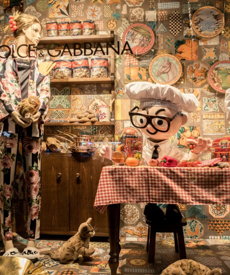 Dolce & Gabbana takes over Harrods on the best brand Activation of 2017