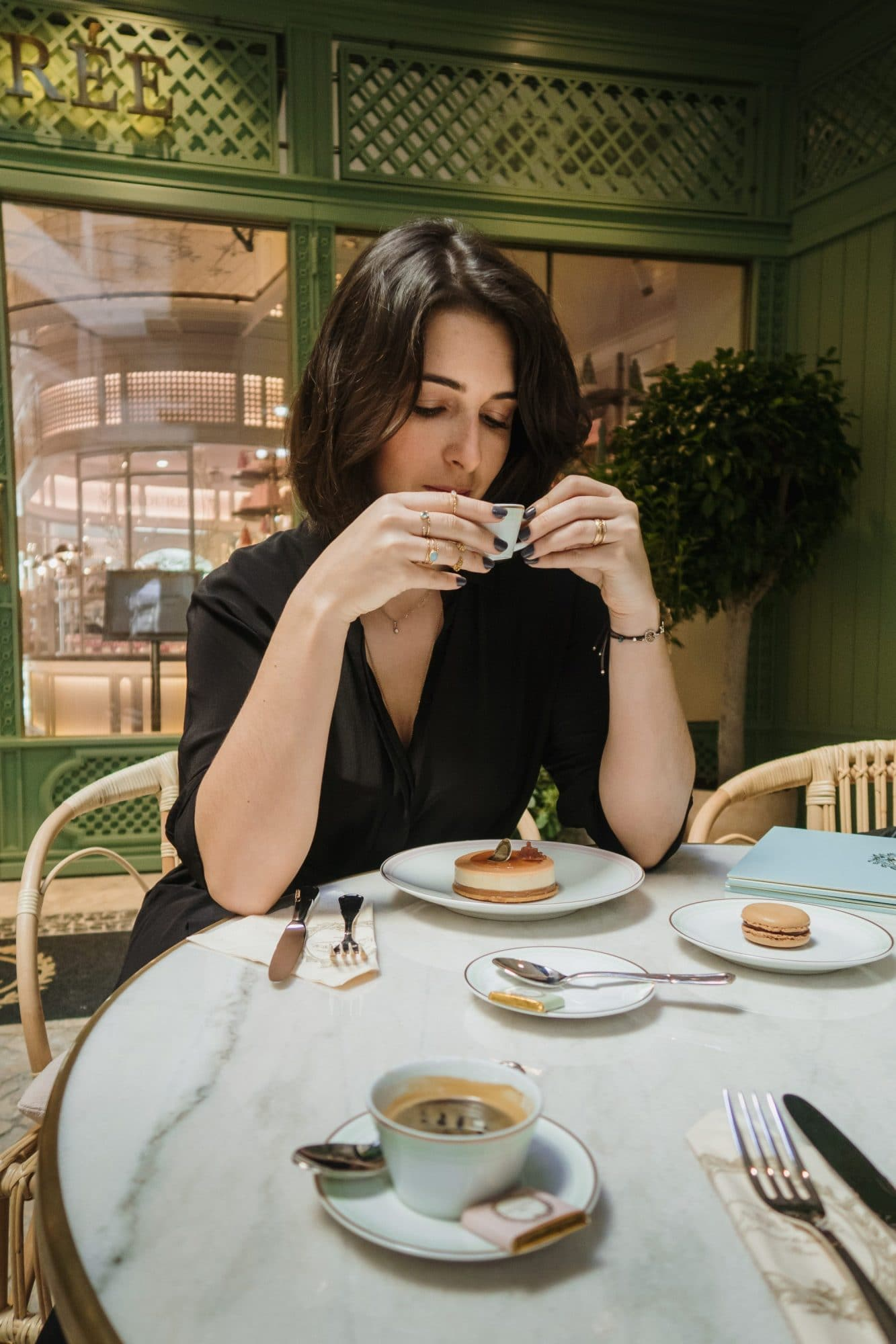 Breakfast at Laduree Lisbon