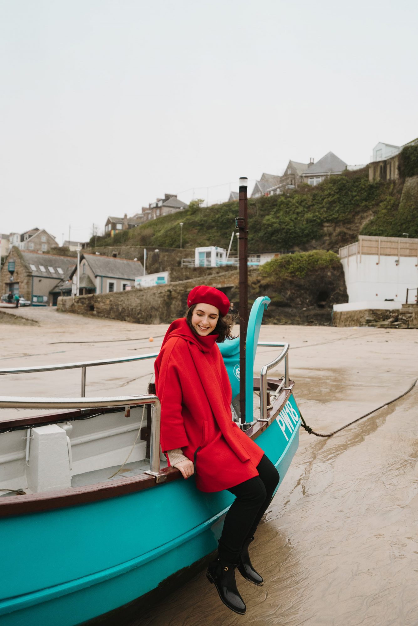 Red Beret Look - Newquay Beach (8)