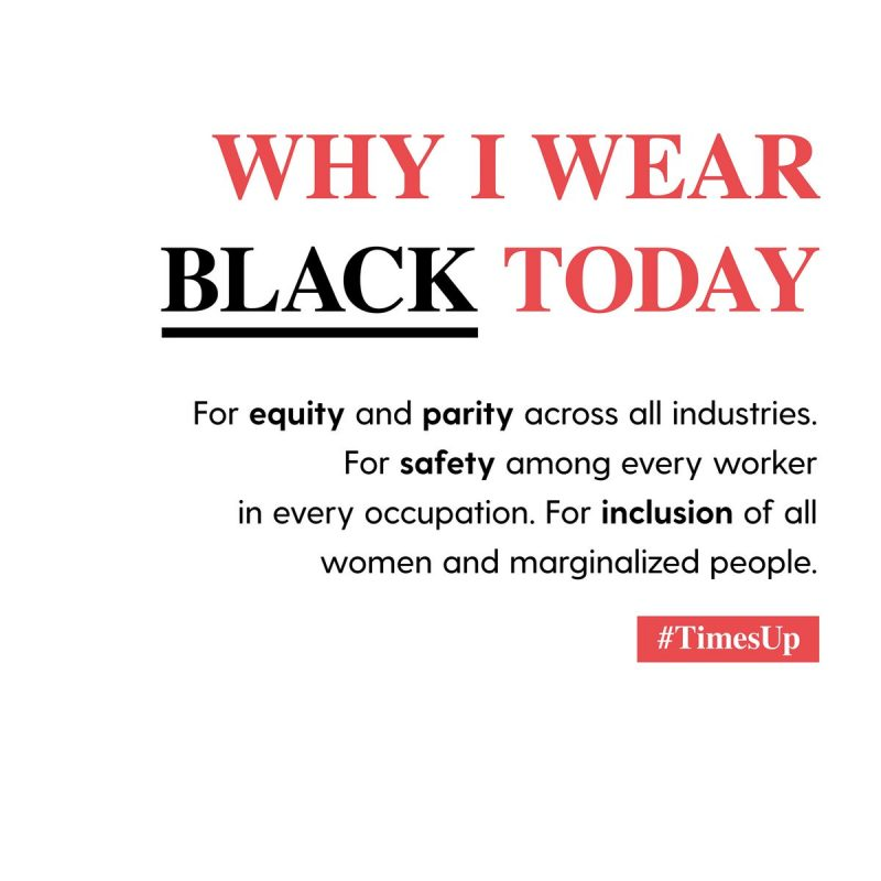 Why #WearitBlack at Golden Globes matters?