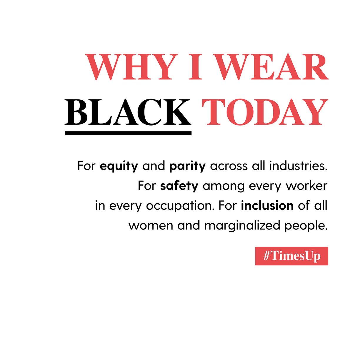 why I wear black