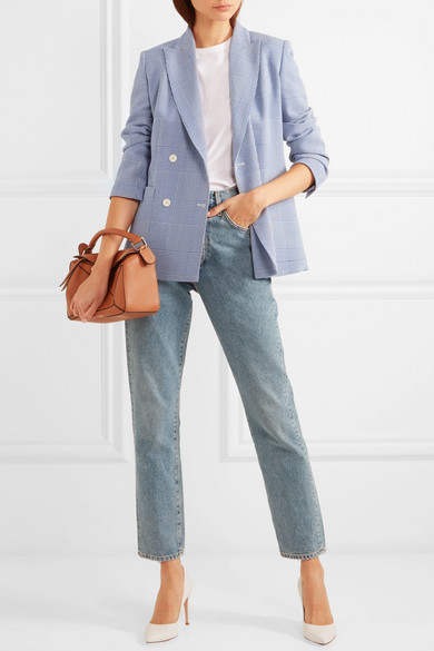 5 modern ways to wear jeans - blazer