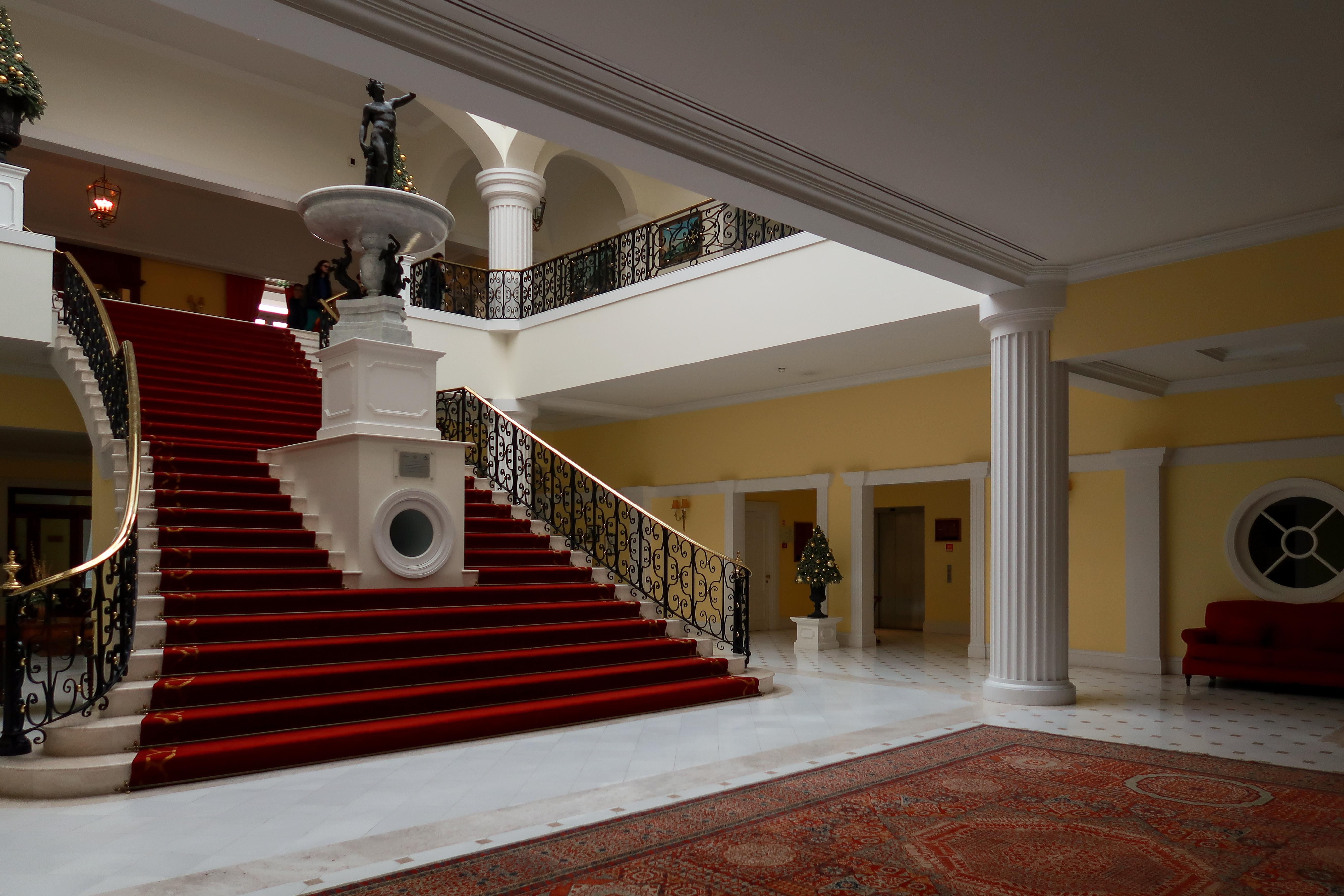 Yeatman main Staircases