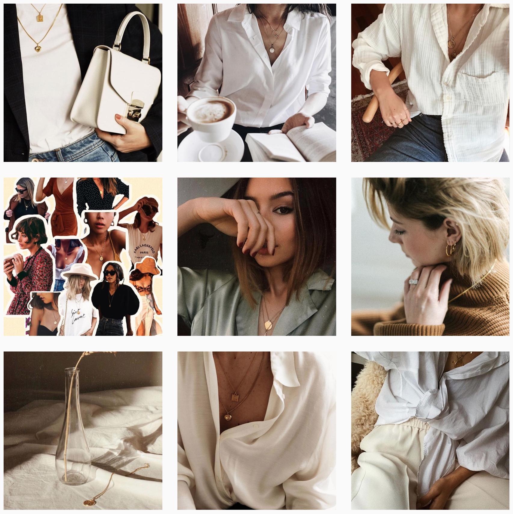 Cinco jewelry Instagram