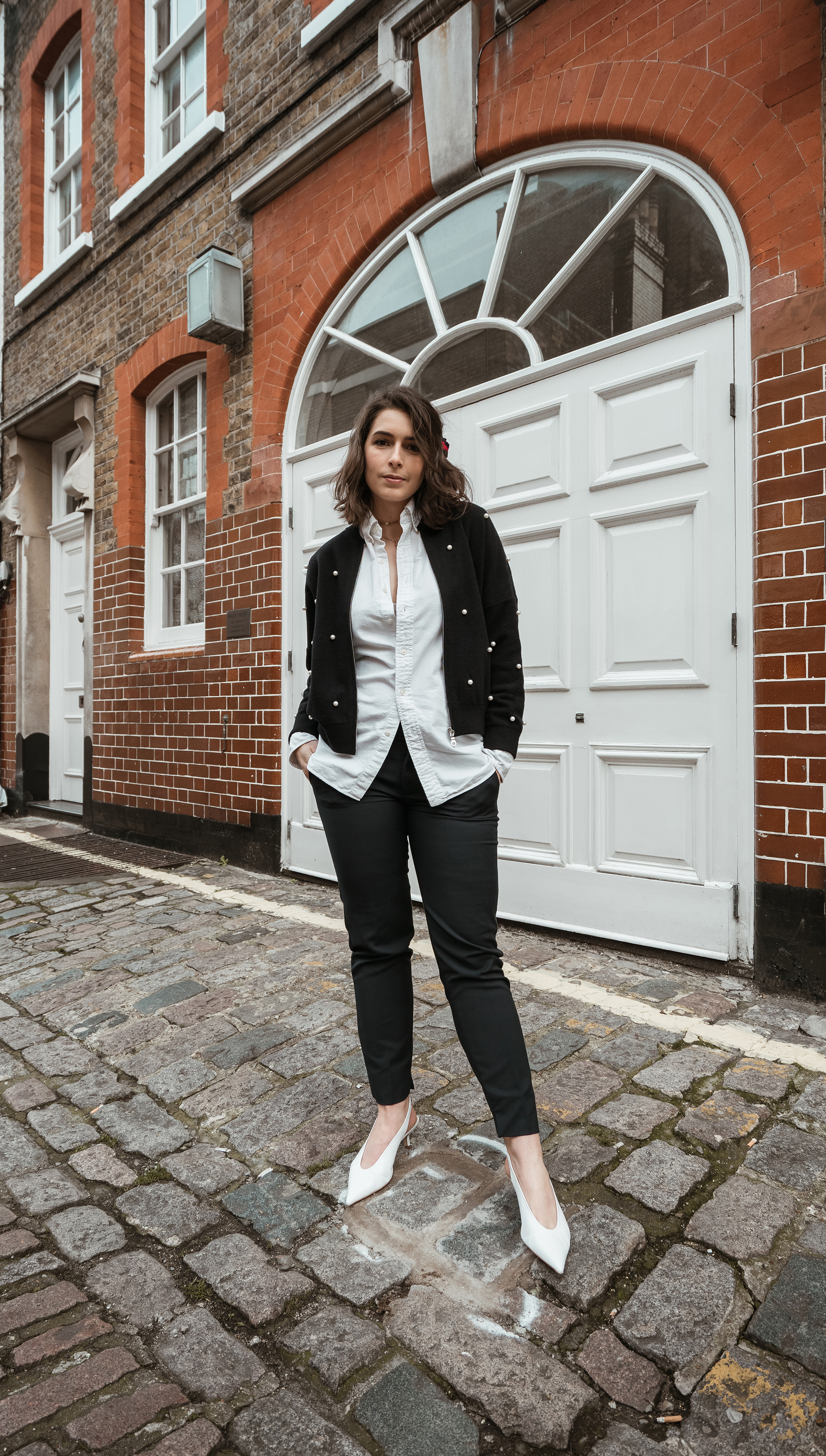 Classic Office Look with a Twist