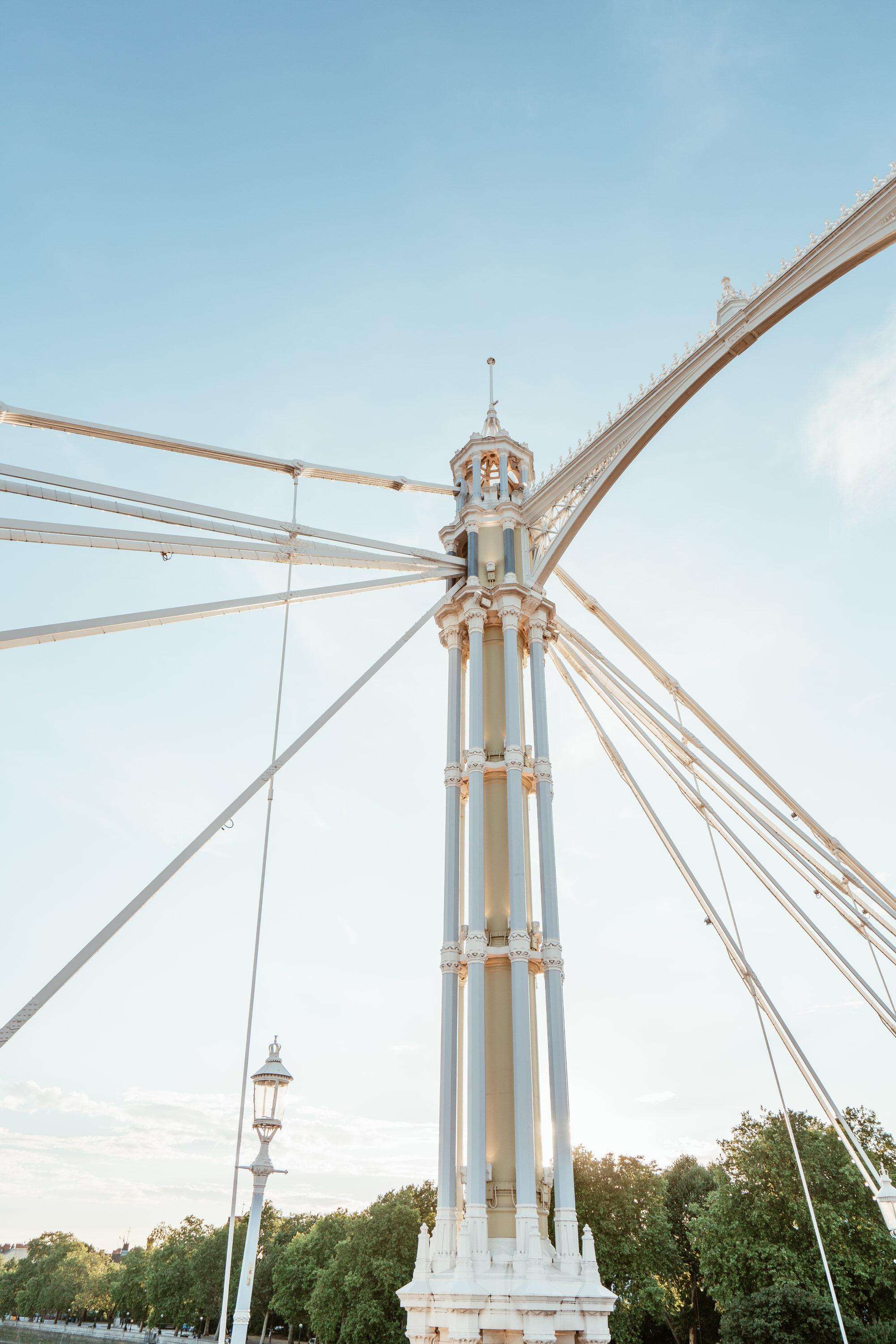 Albert Bridge detail London