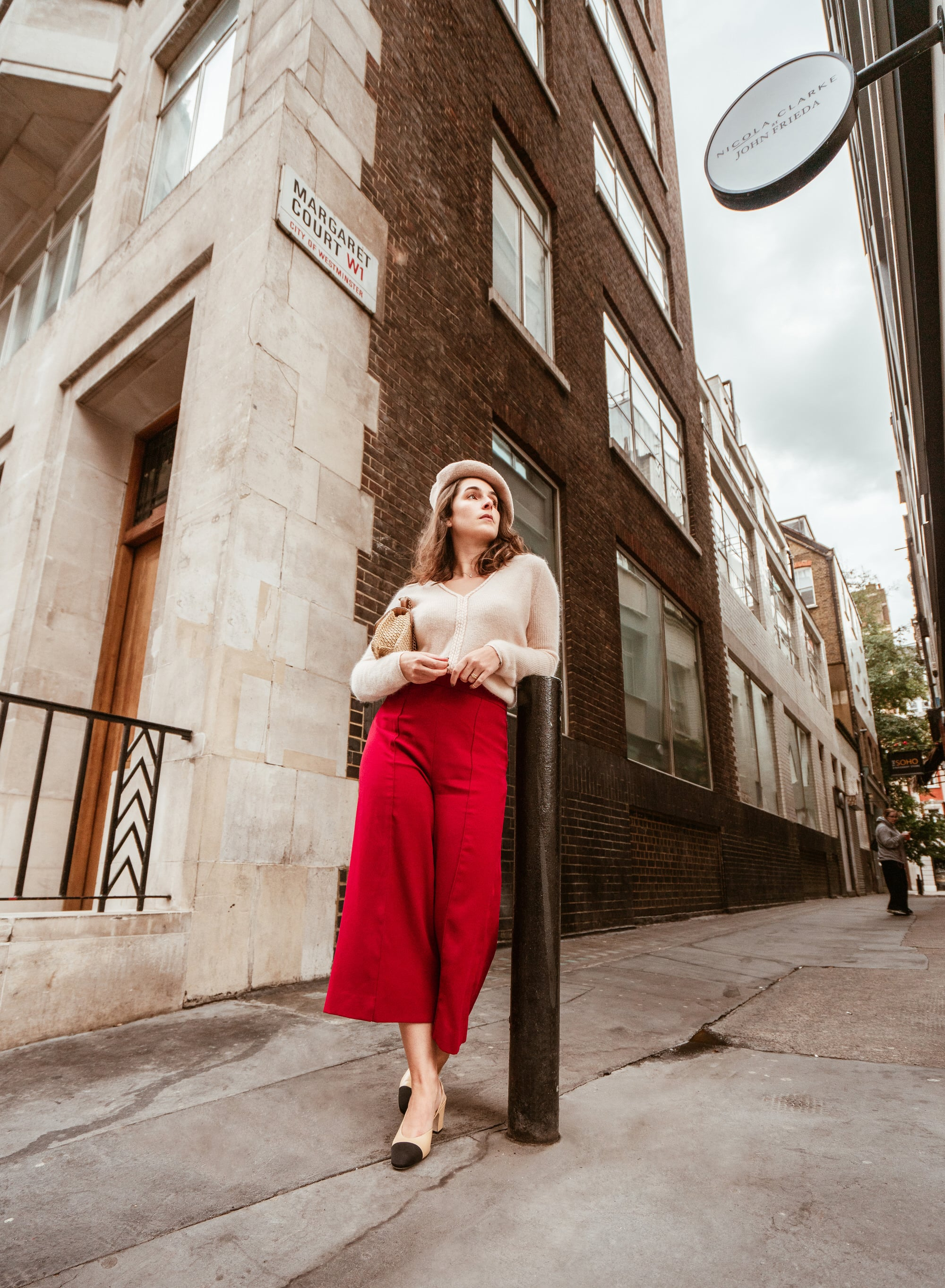 three looks to inspire you to wear culottes during the winter by Arara Pintada