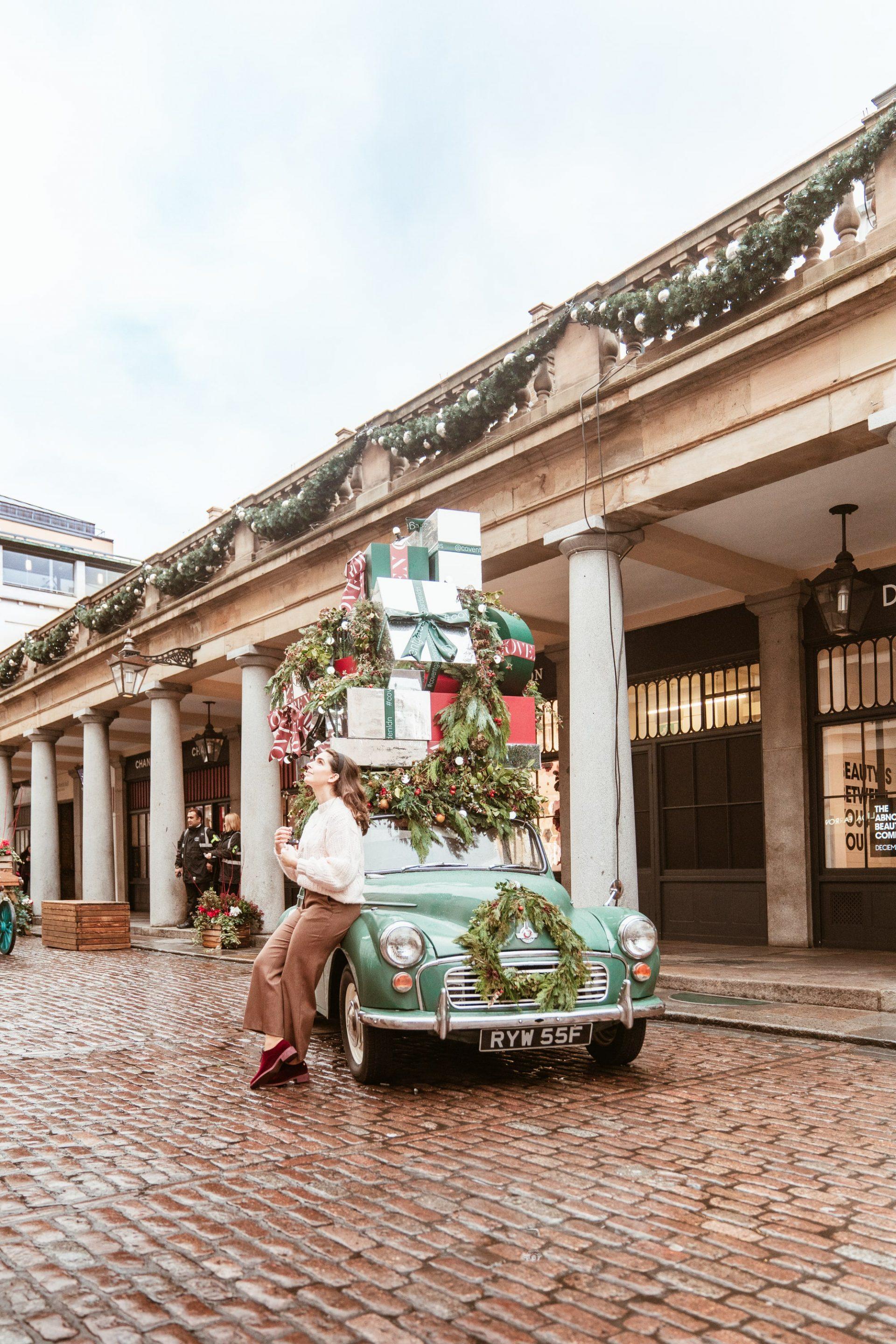 Covent Garden Market at Christmas Season