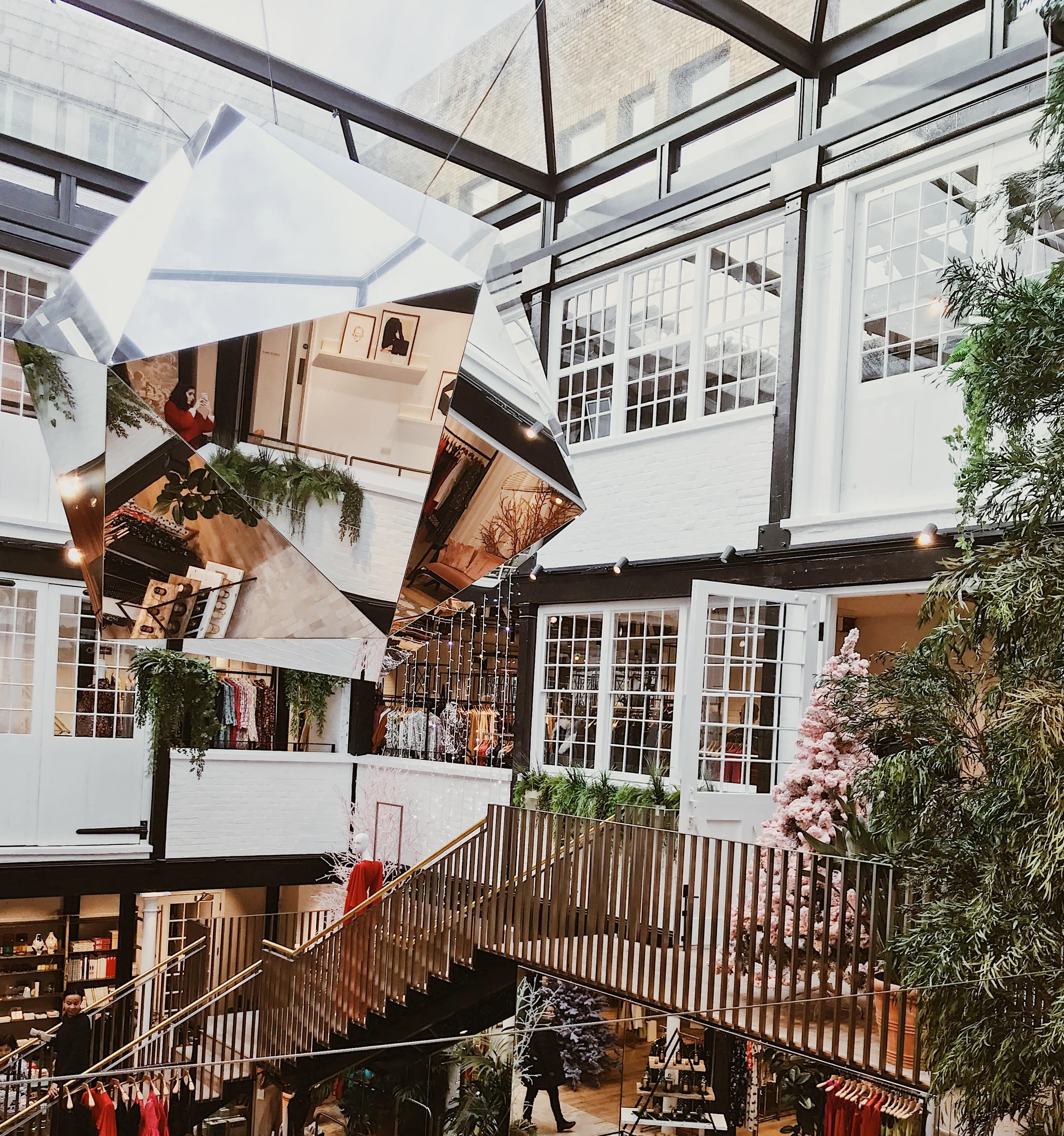 Shop at Bluebird-Christmas Season at Covent Garden