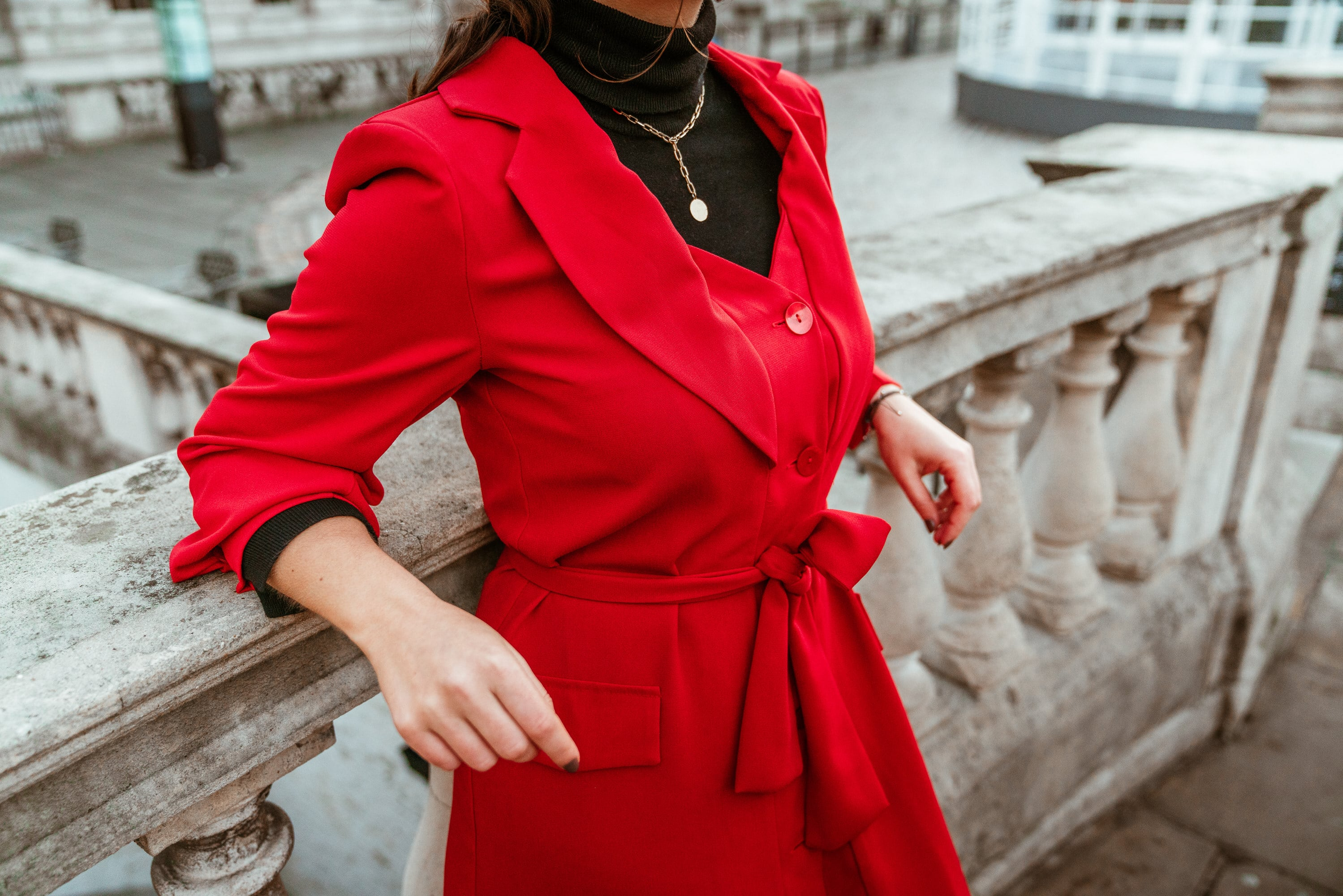 Sophie Trench-Coat by Sienna wore by Marisa Oliveira from Arara Pintada