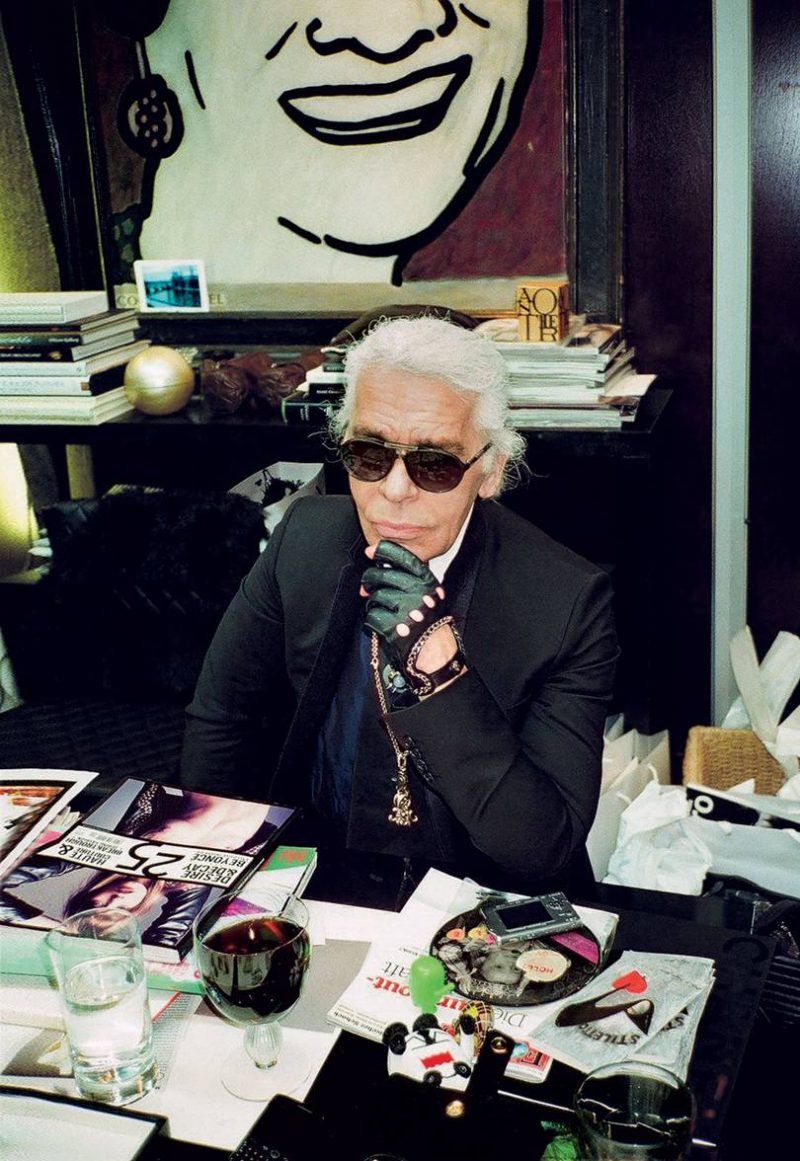 Karl Lagerfeld for Fashion Dummies