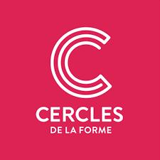 Icone App Cercle de La Forme Magenta