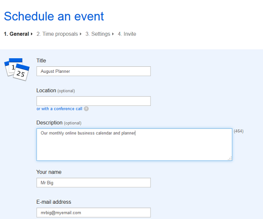 make your own timetable online free