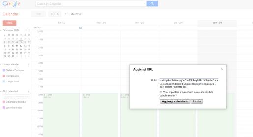 inserisci aggiornamento doodle su gmail
