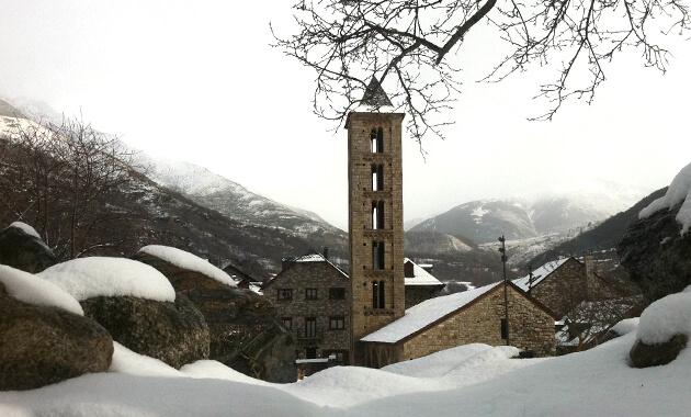 hostal la plaça vall boí nevada