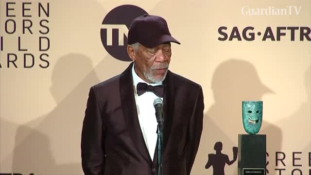 Morgan Freeman calls out SAG for gender-specific statue