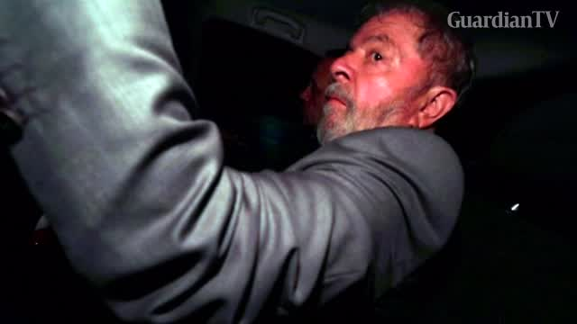 Brazil's Lula surrenders to police