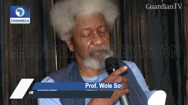 State of the nation: You're in a trance, Soyinka tells Buhari