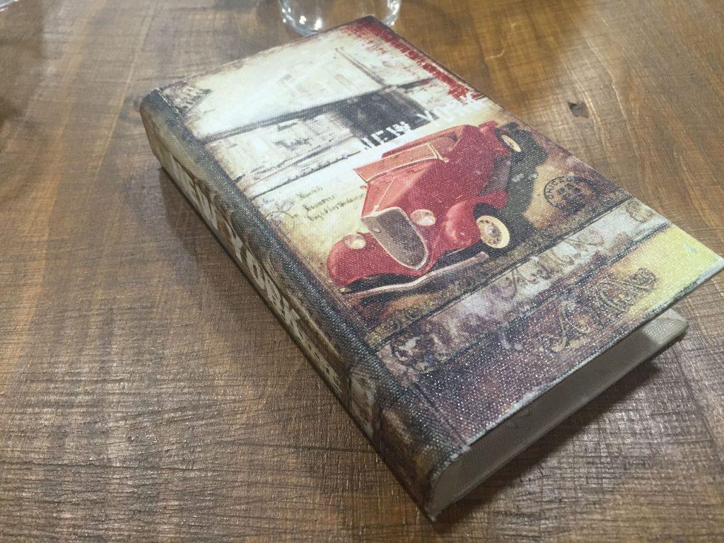 Cuenta - The Book Restaurant