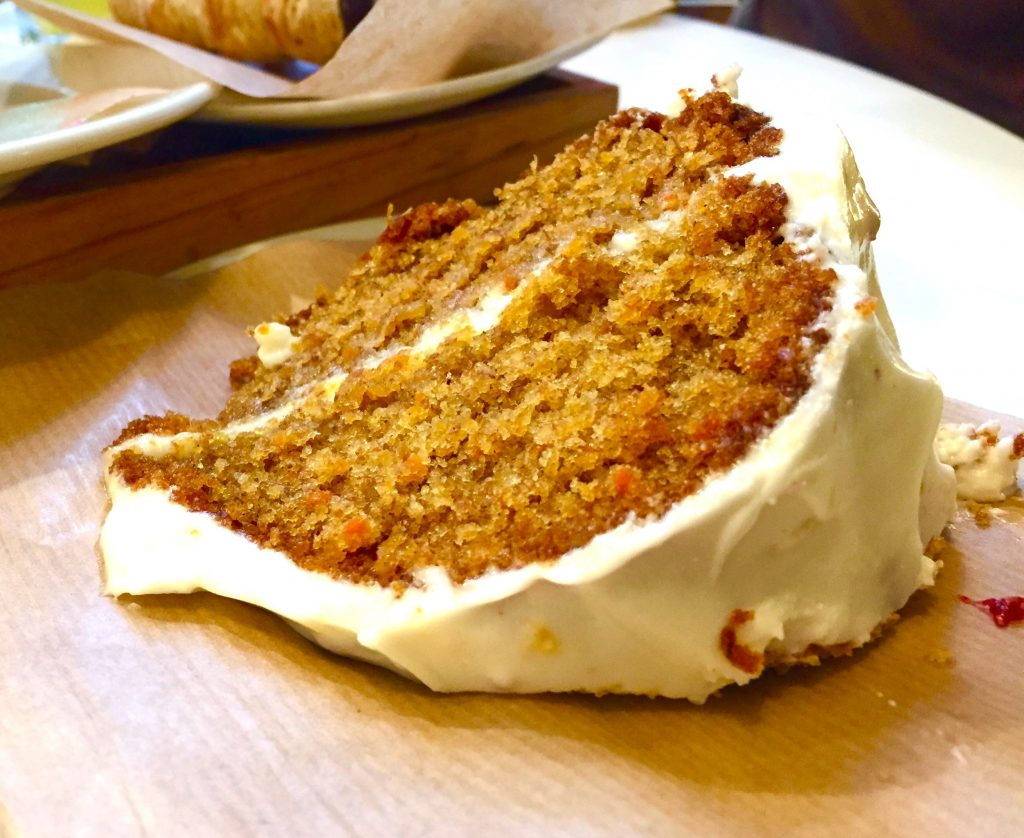 Carrot Cake con queso - Dulce de Leche