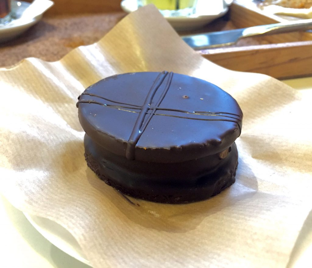 Alfajor de chocolate - Dulce de Leche