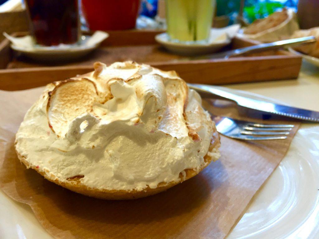 Tartaleta de limón - Dulce de Leche