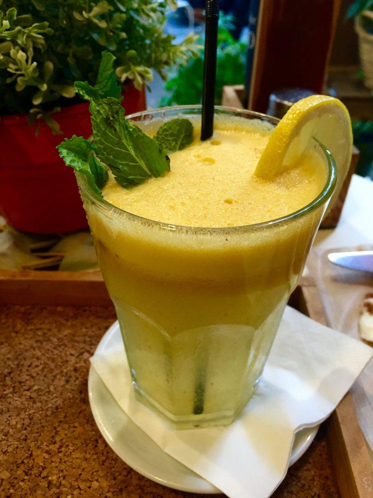 Zumo de manzana, jengibre y limón - Dulce de Leche
