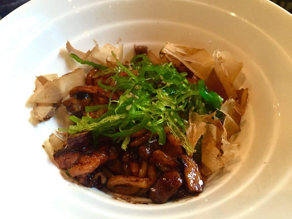 Pollo con fideos udon - Mercatbar
