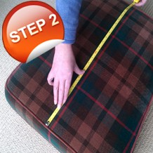 Tips how to Measure for your new foam seat or back cushions, replacing fibre,feather or old foam
