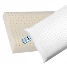 Luxury pure latex foam pillows, soft and flexible  a great nights sleep
