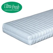Synthetic latex mattress range supportive mattresses whilst maintaining bounce with Ultra-Fresh