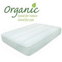 Choose a natural chemical free mattress for a healthier sleep, non toxic with cotton covers