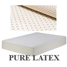 100% natural latex, talalay latex mattress ultimate luxury. Great prices and next day delivery.