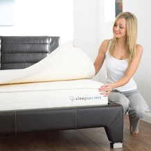Pressure relieving memory foam toppers can provide back pain relief for better sleep, visco elastic