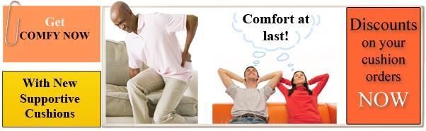 comfortable foam cushions for sofa
