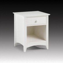 Julian Bowen Cameo 1 Drawer Bedside Table