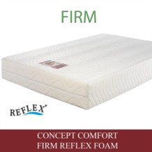 Concept Comfort Firm Reflex Foam Mattress